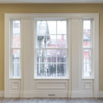 Timber Window with Architrave