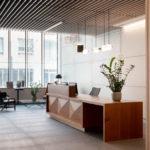 Reception Counter in Mahogany