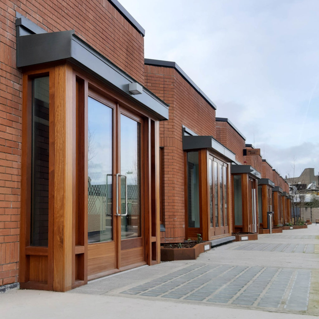 Series of External timber doors & frames