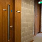 Fire rated doors to Corridors