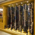 Wine Display & Storage Area