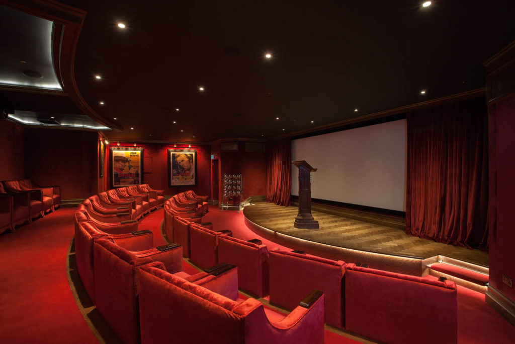 The Cinema: Lectern, Flooring, Skirting & Architrave by GJ